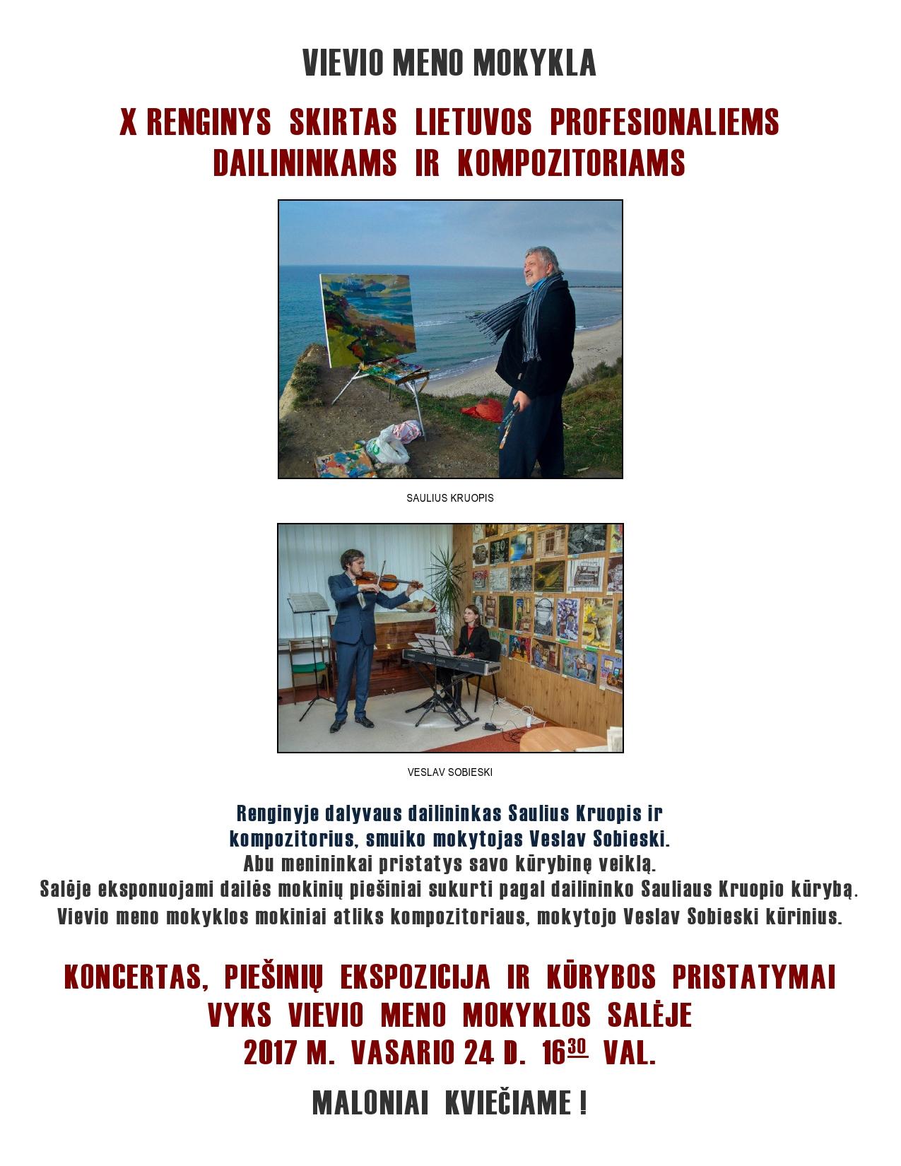 Renginys skirtas Lietuvos menininkams 2017-02-24-page0001